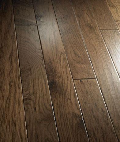 Hickory prefinished hand scraped u0026 distressed hardwood for Dalton flooring liquidators